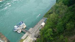 Embarking the Maid of the Mist Boat